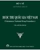 Dược thư quốc gia việt nam - nhà xuất bản khoa học và kỹ thuật