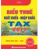 biểu thuế nhập khẩu song ngữ năm 2016 sửa đổi bổ sung mới nhất