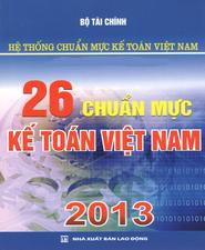 Sách 26 chuẩn mực kế toán Việt Nam