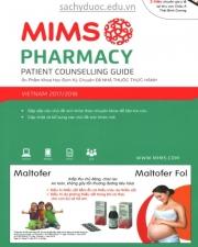 sách mims pharmacy 2016 việt nam mới nhất - cẩm nang nhà thuốc thực hành