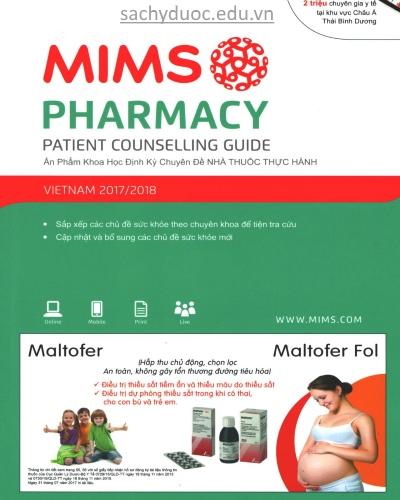 sách mims pharmacy 2015 việt nam mới nhất, sách cẩm nang nhà thuốc thực hành năm 2015