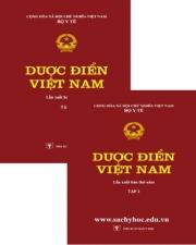 Dược điển việt nam V - NXB Y Học - Bộ Y Tế ban hành theo QĐ 5388/QĐ-BYT