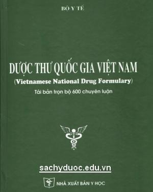 sách Dược thư quốc gia việt nam 2015